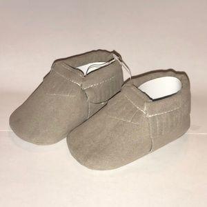 Grey Baby Moccs